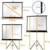 Stúdió Eszközök 92x122cm projektor vászon állvánnyal