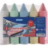 STYLEX Schreibwaren GmbH Stylex aszfaltkréta XXL, 5-féle szín/csomag