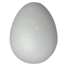 . Styropor tojás 40 mm dekorglitter