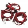 Super Flower Cable Kit - fekete/piros