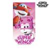 Super Wings Rózsaszín Super Wings Strandtörölköző