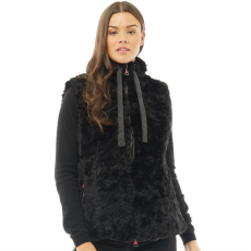 Superdry Női Antartic Faux Fur Gilet Kabát