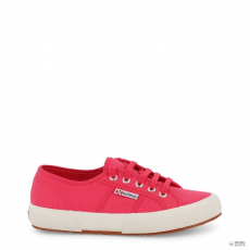 Superga női edzőcipő edző cipő 2750-COTU-klasszikus_S000010-P34_RED-AZALEA