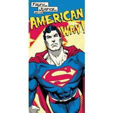 Superman Superman fürdőlepedő strand törölköző 70*140cm lakástextília