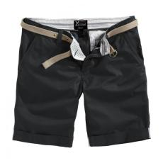 SURPLUS Chino rövidnadrág, fekete