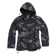 SURPLUS Windbreaker kabát black camo