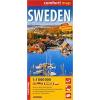 Svédország Comfort térkép - ExpressMap