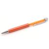 Swarovski kristályos golyóstoll kék tintával - narancsszín