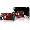 Sweex 2.1 Speaker System Purephonic 60 Watt Red