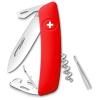 SWIZA svájci zsebkés piros D03
