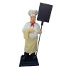 Szakács-táblával/190 cm/kendővel