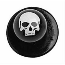 Szakácskabát gomb-halálfejes-12 db munkaruha