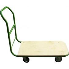Szállítókocsi, kézi, 200 kg teherbírás, zöld-barna kerti szerszám