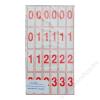 . Szám és jelkártya II-IV. o. (ISKE031)