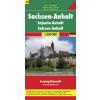 Szász-Anhalt (Németország 10) térkép - f&b AK 0216