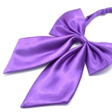 Szatén nõi csokornyakkendõ - Lila női ruházati kiegészítő