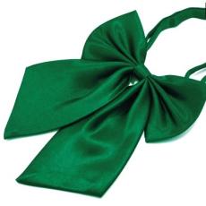 Szatén nõi csokornyakkendõ - Zöld