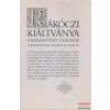 Szépirodalmi Könyvkiadó Rákóczi kiáltványa a keresztény világhoz