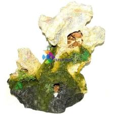 Szer-Ber Műszikla barlangokkal akvárium dekor akvárium dekoráció