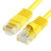 Szerelt patch kábel UTP Cat6 3 m PVC SÁRGA