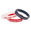 szilikon karkötő FC Bayern München - 3db