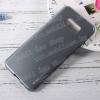 szilikon védõ tok / hátlap - SZÜRKE - SAMSUNG SM-G955 Galaxy S8 Plus - GYÁRI