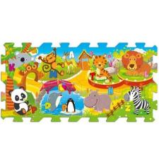 Szivacs puzzle 8db - Állatok játszószőnyeg