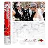 Szíves Konfetti ágyú esküvőre