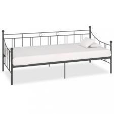 Szürke fém kanapéágy-keret 90 x 200 cm ágy és ágykellék