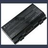 T12U 4400 mAh 6 cella fekete notebook/laptop akku/akkumulátor utángyártott