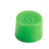 Táblamágnes, 10 mm, zöld