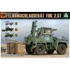 Takom Bundeswehr Feldumschlaggerät FUG 2,5T katonai jármű makett Takom 2021