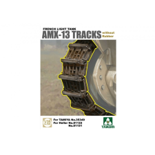 Takom French Light Tank AMX-13 Tracks without Rubber 2060 makett figura