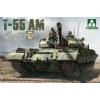 Takom Russian Medium Tank T-55AM tank harcjármű makett Takom 2041