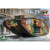 Takom WWI Heavy Battle Tank Mk.IV 2 in 1 tank makett 2076