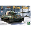 Takom WWII German Heavy Tank Sd.Kfz.182 King Tiger Henschel Turret tank makett 2073