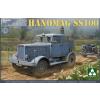 Takom WWII German Tractor Hanomag SS100 katonai jármű makett 2068