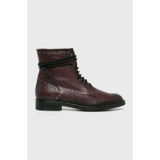 Tamaris - Magasszárú cipő - gesztenyebarna - 1486651-gesztenyebarna