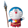 TAMASHII NATIONS bábu csuklós Doraemon - Doraemon Movie 10cm gyerek