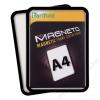 TARIFOLD Mágneses tasak, mágneses háttal, A4, TARIFOLD Magneto, fekete (TF194907)