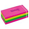 TARTAN 38x51 mm 100 lapos vegyes öntapadó jegyzettömb (12 tömb/csomag)