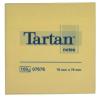 TARTAN 76x76 mm 100 lapos sárga öntapadó jegyzettömb (12 tömb/csomag)