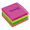 TARTAN Öntapadó jegyzettömb, 76x76 mm, 400 lap, TARTAN, vegyes (LPT7676CN)