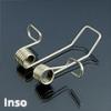 Tartó-, rögzítő elem Inso profilhoz, rőgzítőrugó