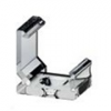 Tartó-, rögzítő elem Type-C alumínium LED profilhoz, műa.