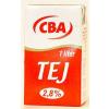 Tartós tej, dobozos, 2,8%, 1 l, CBA