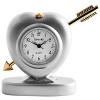 Tavolino miniatűr szív óra nyíllal