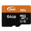 Team Group Standard 64GB MicroSDXC 15 MB/s 256FC15