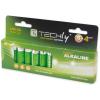 Techly alkalikus elem  1.5V AA LR6  12 darab 306981