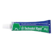 """Technokol Ragasztó, folyékony, 35 g, TECHNOKOL """"Rapid"""", zöld ragasztó"""